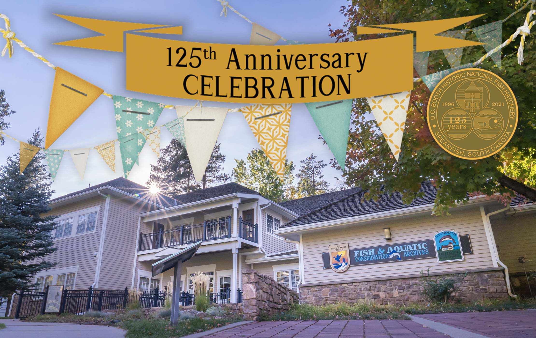 125th Anniversary Celebration photo of conservation building